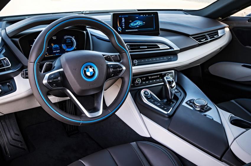 BMW i8 plug-in hybrid sports car – full official details Image #197817