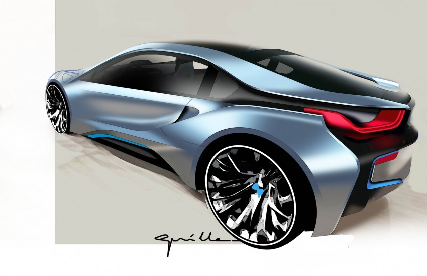 BMW i8 plug-in hybrid sports car – full official details Image #197828