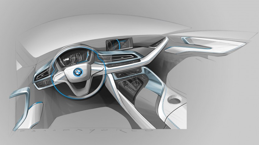 BMW i8 plug-in hybrid sports car – full official details Image #197830