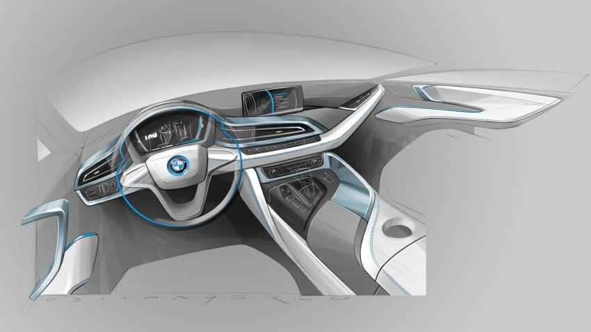 BMW i8 plug-in hybrid sports car – full official details Image #197830
