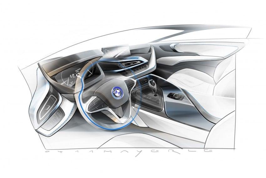 BMW i8 plug-in hybrid sports car – full official details Image #197831