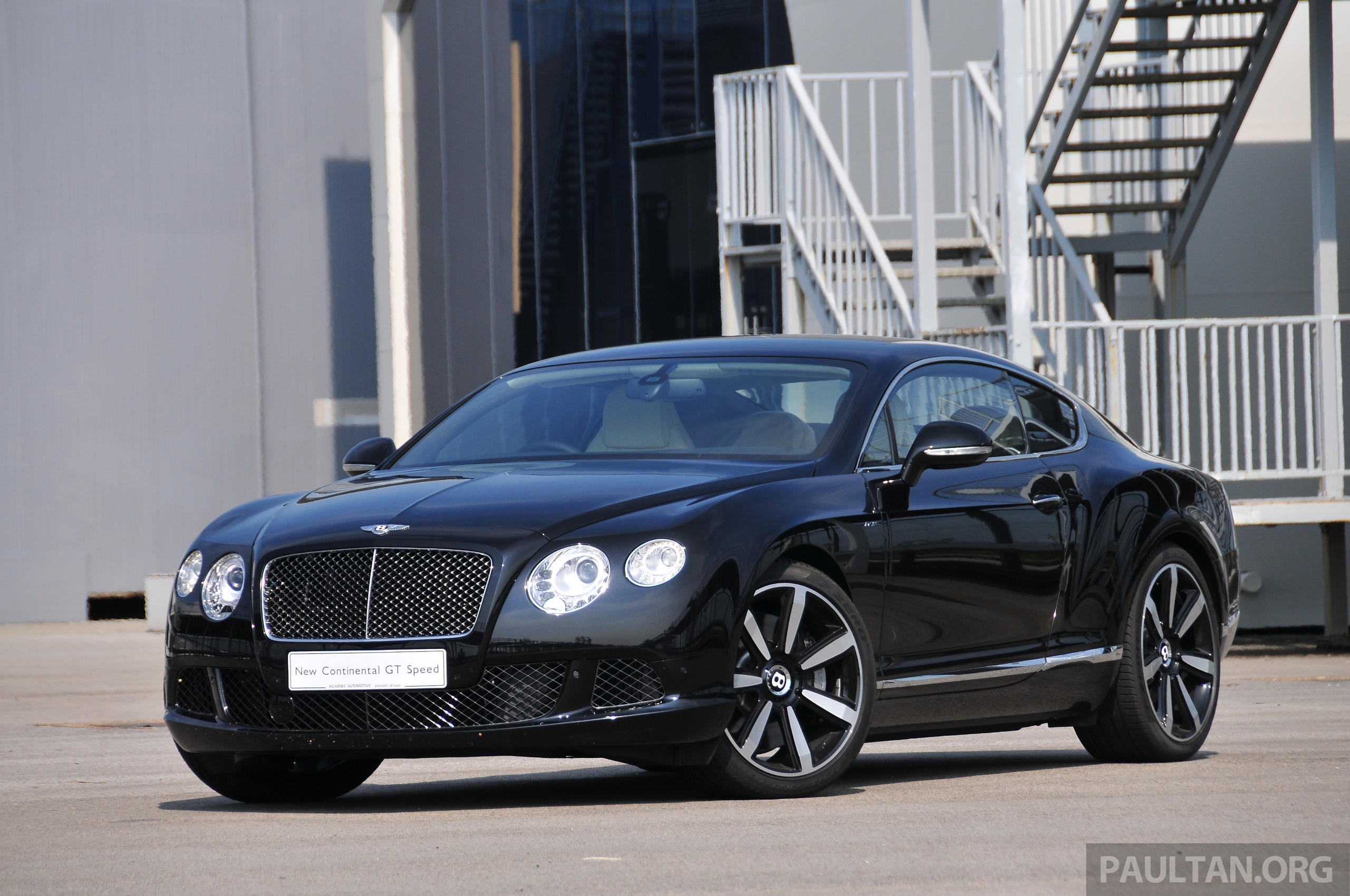 Bentley Four Door Coupe In The Works Ready By 2018 Paul
