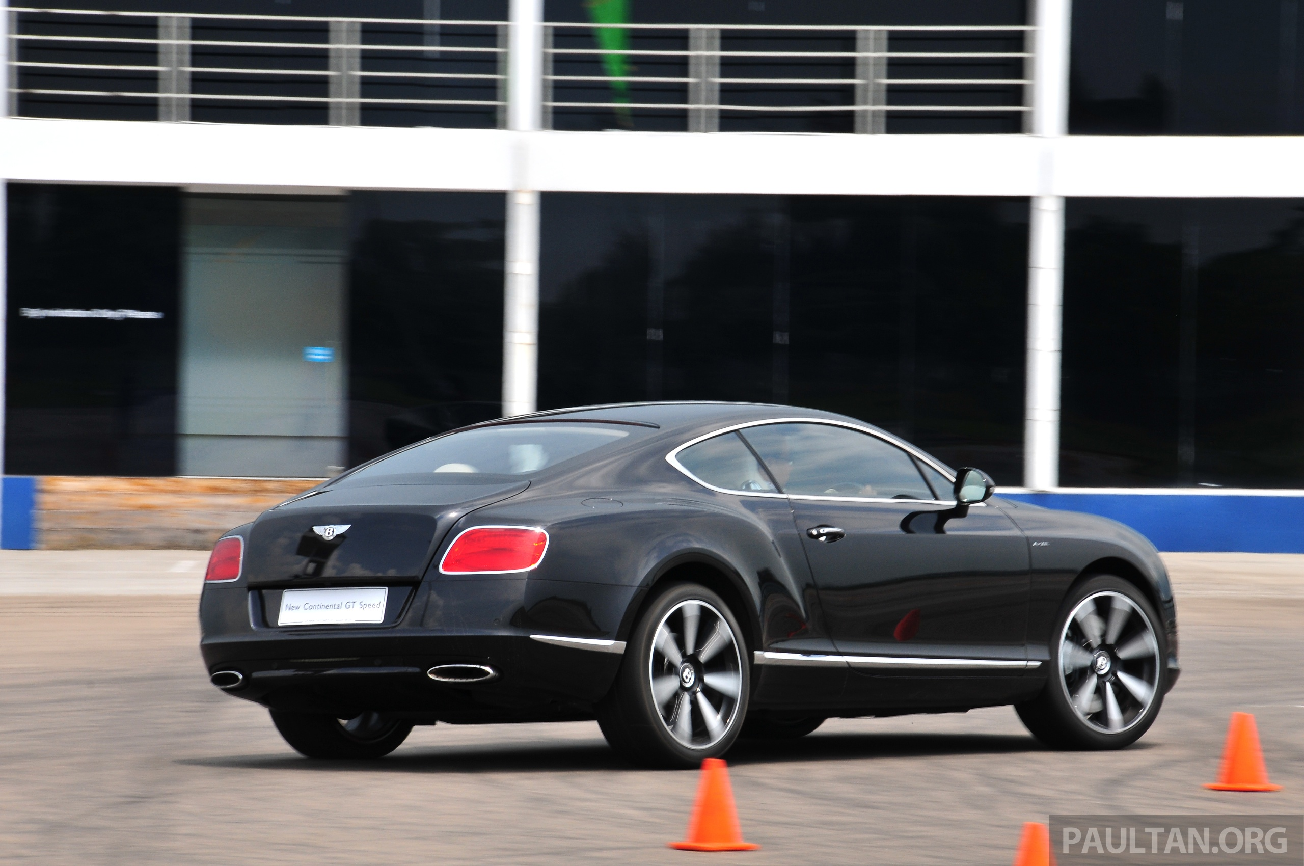 Bentley Four Door Coupe In The Works Ready By 2018 Image