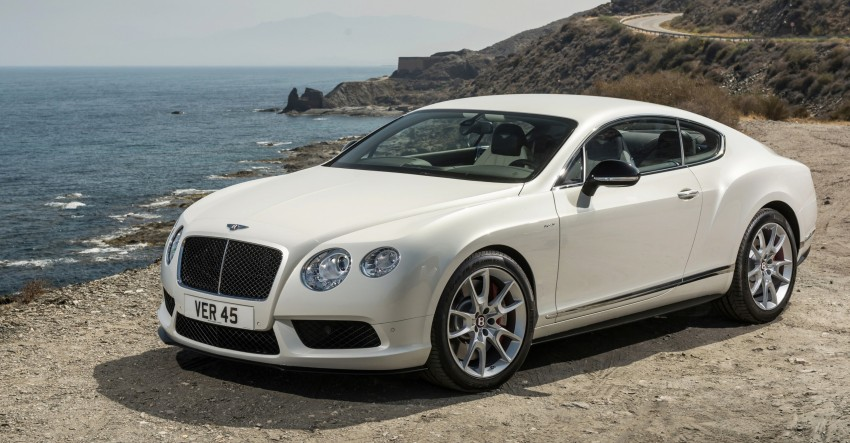 Bentley Continental GT V8 S is faster, more focused Image #196285