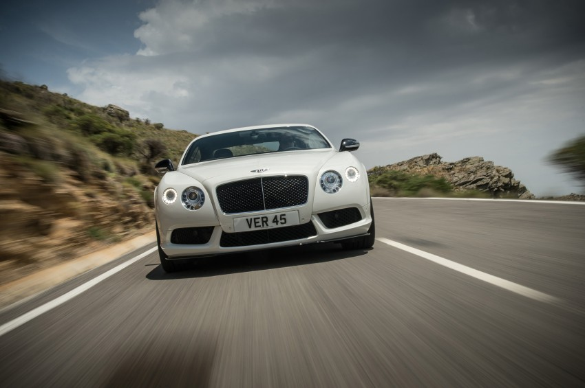 Bentley Continental GT V8 S is faster, more focused Image #196286