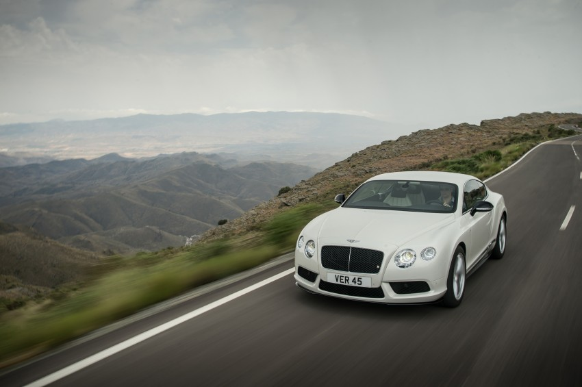 Bentley Continental GT V8 S is faster, more focused Image #196287