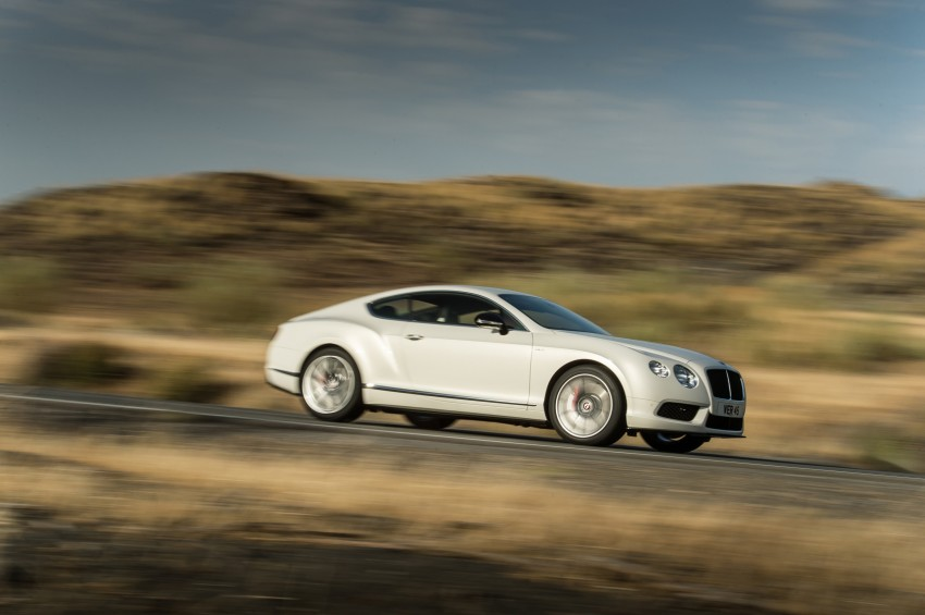 Bentley Continental GT V8 S is faster, more focused Image #196289