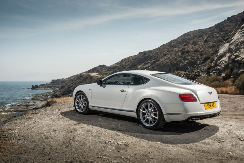 Bentley Continental GT V8 S is faster, more focused Image #196290