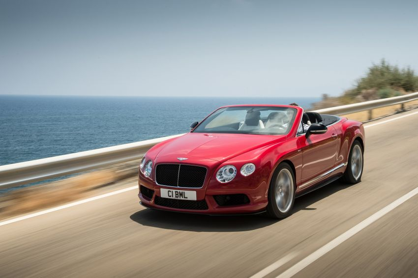 Bentley Continental GT V8 S is faster, more focused Image #196300