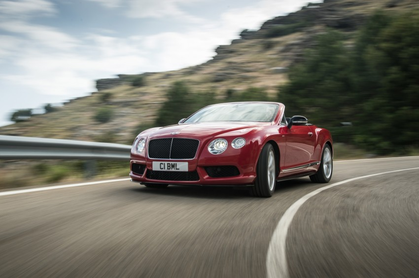 Bentley Continental GT V8 S is faster, more focused Image #196301