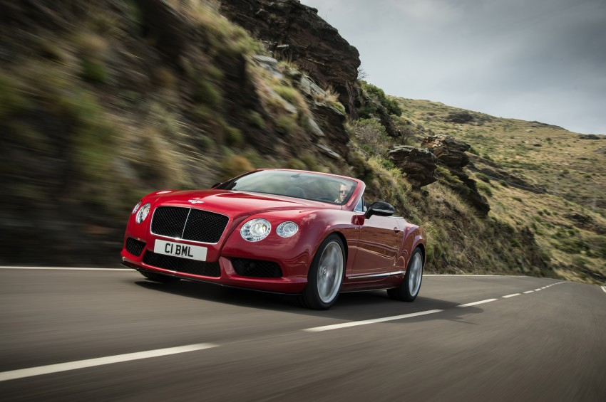 Bentley Continental GT V8 S is faster, more focused Image #196302