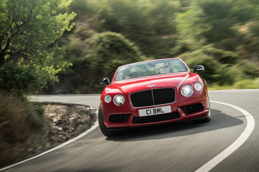 Bentley Continental GT V8 S is faster, more focused Image #196303