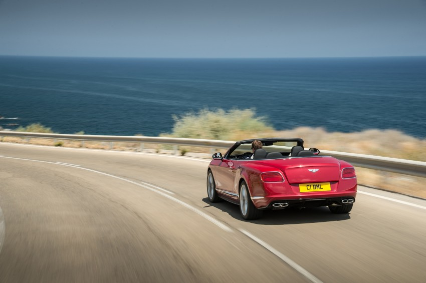 Bentley Continental GT V8 S is faster, more focused Image #196305