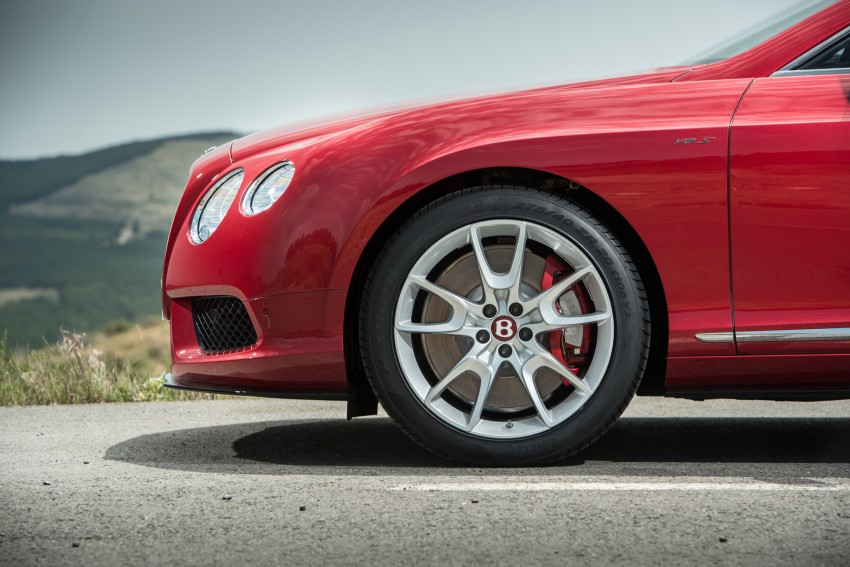 Bentley Continental GT V8 S is faster, more focused Image #196306