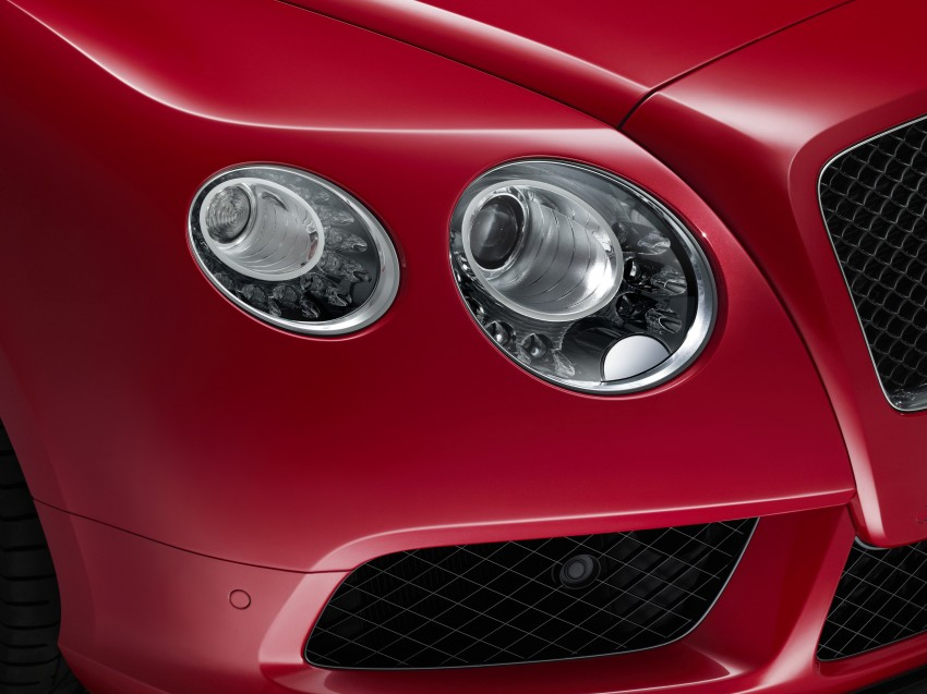Bentley Continental GT V8 S is faster, more focused Image #196307
