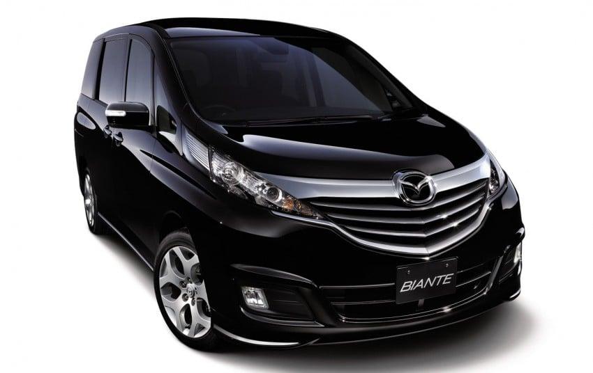 Mazda Biante MPV to debut in Malaysia in November – 'new look' CX-9 SUV to premiere alongside it Image #200928
