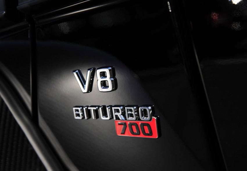 Brabus B63S-700 6×6 – the six-wheeled black beast Image #198691
