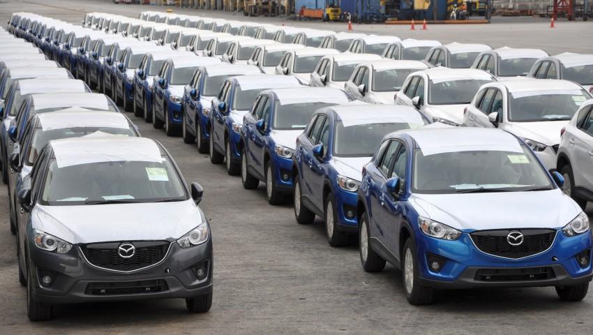 Mazda CX-5 – exports of Malaysian-assembled SUV begin, SkyActiv petrol/diesel units head to Thailand Image #200697