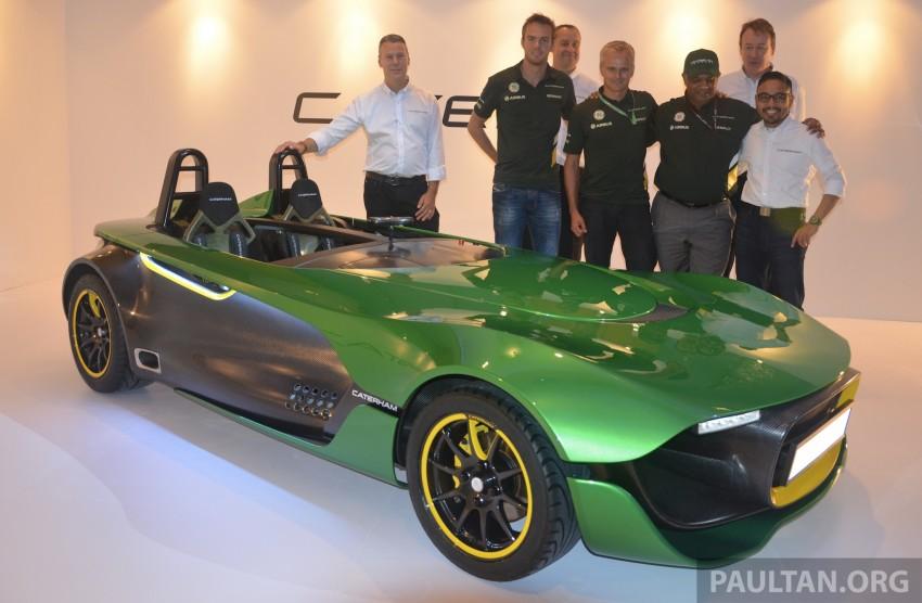 Caterham AeroSeven Concept premieres in Singapore Image #200395