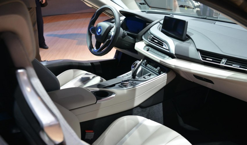 BMW i8 plug-in hybrid sports car – full official details Image #197875