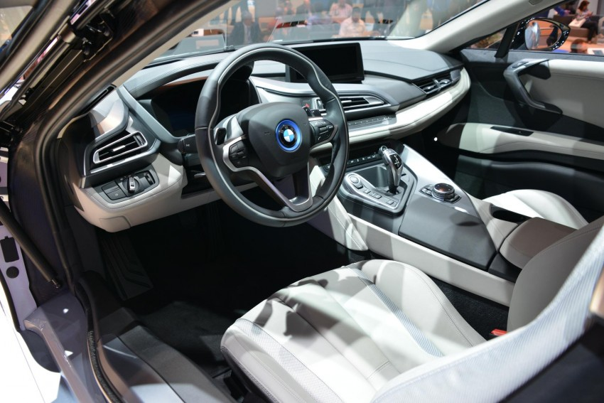 BMW i8 plug-in hybrid sports car – full official details Image #197882