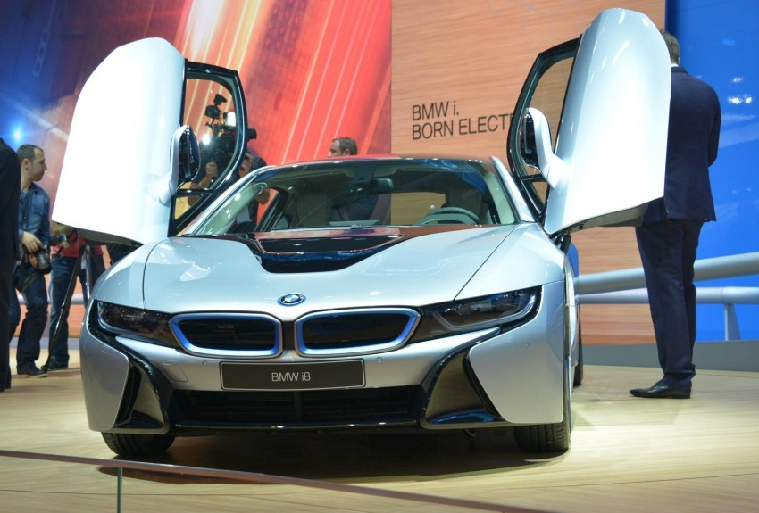 BMW i8 plug-in hybrid sports car – full official details Image #197884