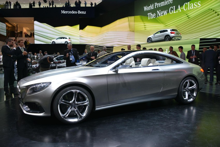 Mercedes-Benz S-Class Coupe Concept makes debut Image #197885