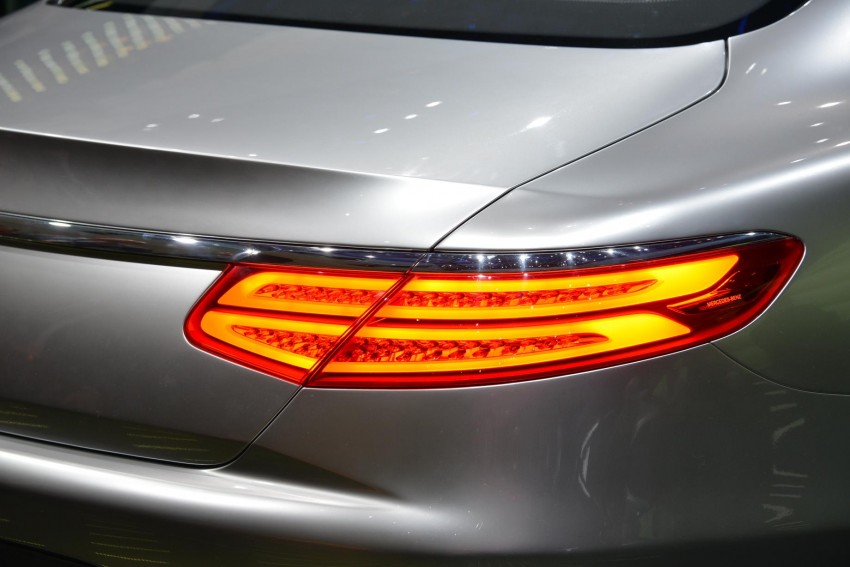 Mercedes-Benz S-Class Coupe Concept makes debut Image #197887