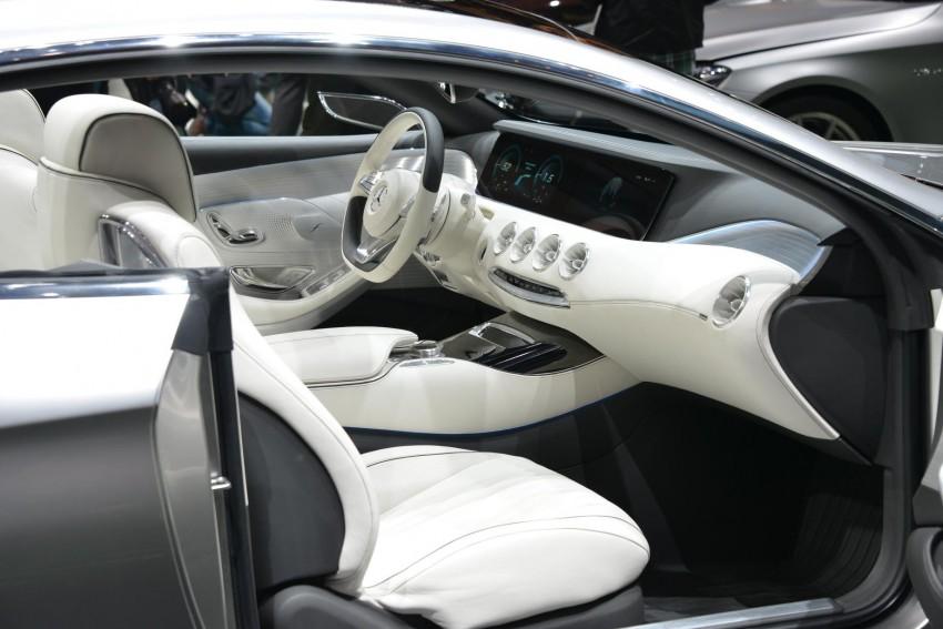 Mercedes-Benz S-Class Coupe Concept makes debut Image #197888