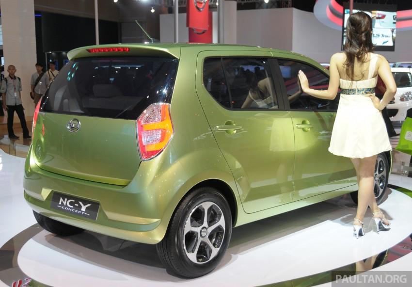 Daihatsu NC-Y and NC-Z concepts bow in at IIMS 2013 Image #200130
