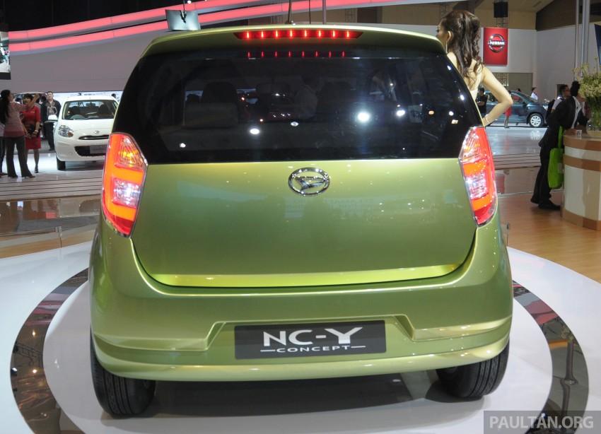 Daihatsu NC-Y and NC-Z concepts bow in at IIMS 2013 Image #200131