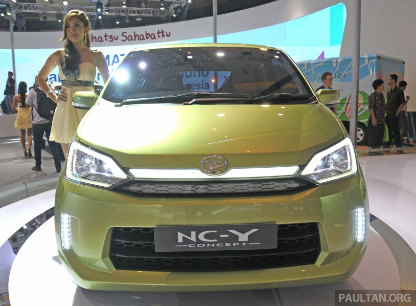 Daihatsu NC-Y and NC-Z concepts bow in at IIMS 2013 Image #200134