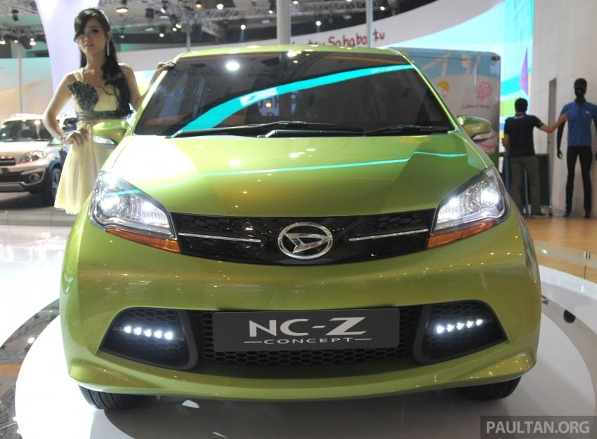 Daihatsu NC-Y and NC-Z concepts bow in at IIMS 2013 Image #200139