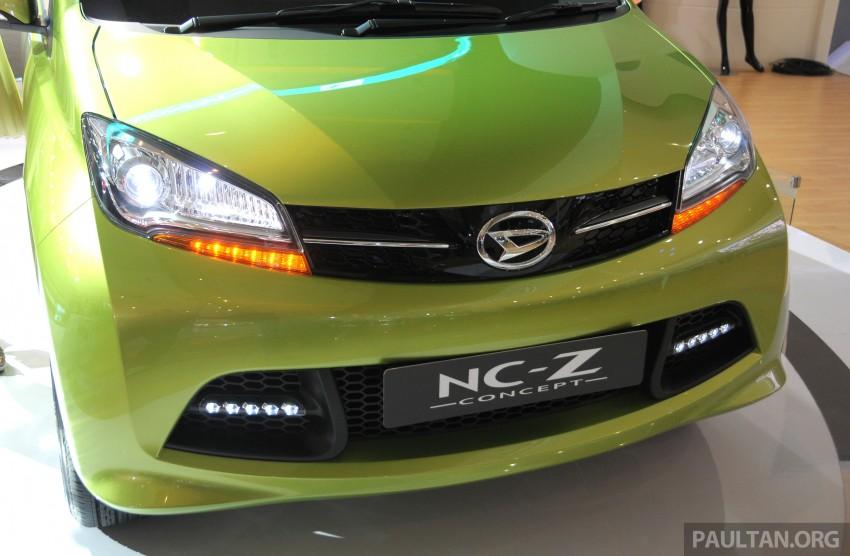Daihatsu NC-Y and NC-Z concepts bow in at IIMS 2013 Image #200143