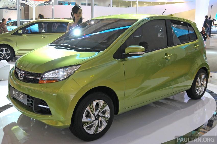 Daihatsu NC-Y and NC-Z concepts bow in at IIMS 2013 Image #200145
