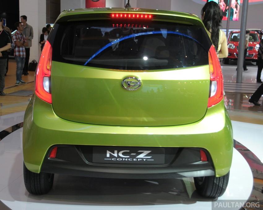 Daihatsu NC-Y and NC-Z concepts bow in at IIMS 2013 Image #200147