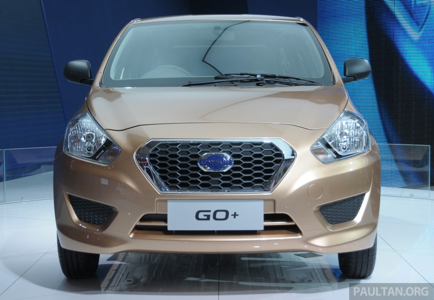GALLERY: Datsun GO+ MPV and GO hatch at IIMS Image #200295