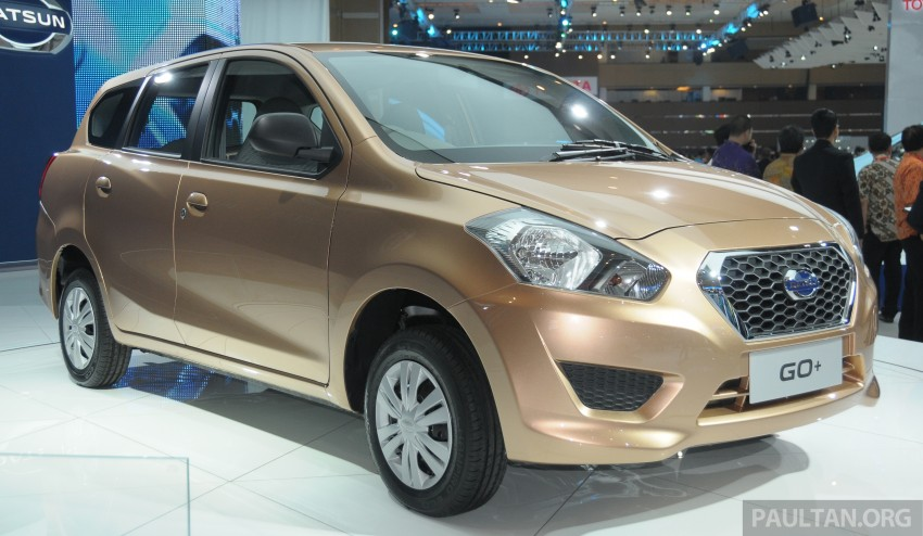 GALLERY: Datsun GO+ MPV and GO hatch at IIMS Image #200296