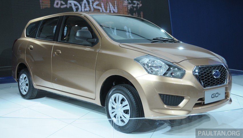 GALLERY: Datsun GO+ MPV and GO hatch at IIMS Image #200297