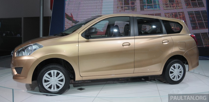 GALLERY: Datsun GO+ MPV and GO hatch at IIMS Image #200298