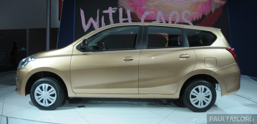 GALLERY: Datsun GO+ MPV and GO hatch at IIMS Image #200299