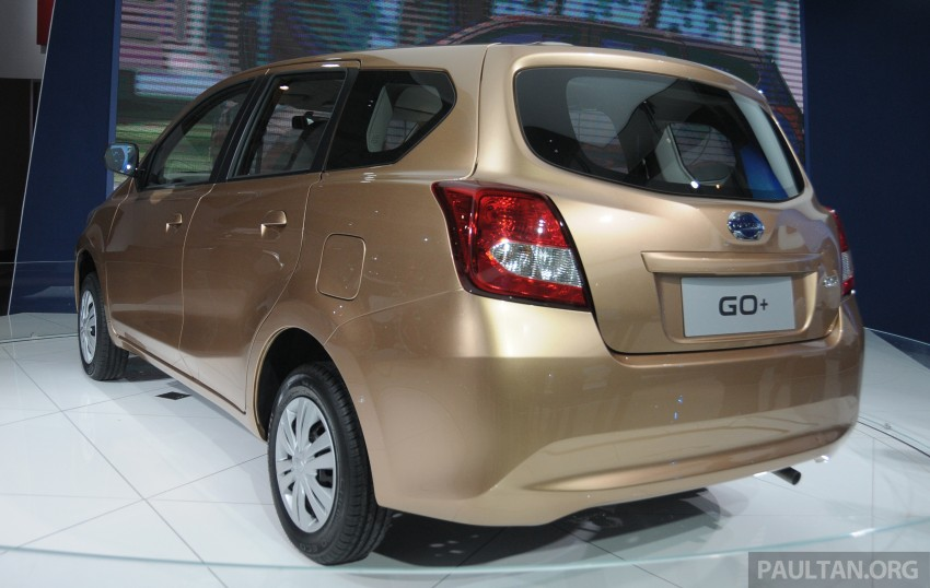 GALLERY: Datsun GO+ MPV and GO hatch at IIMS Image #200300