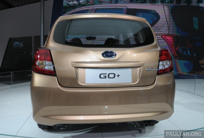 GALLERY: Datsun GO+ MPV and GO hatch at IIMS Image #200302
