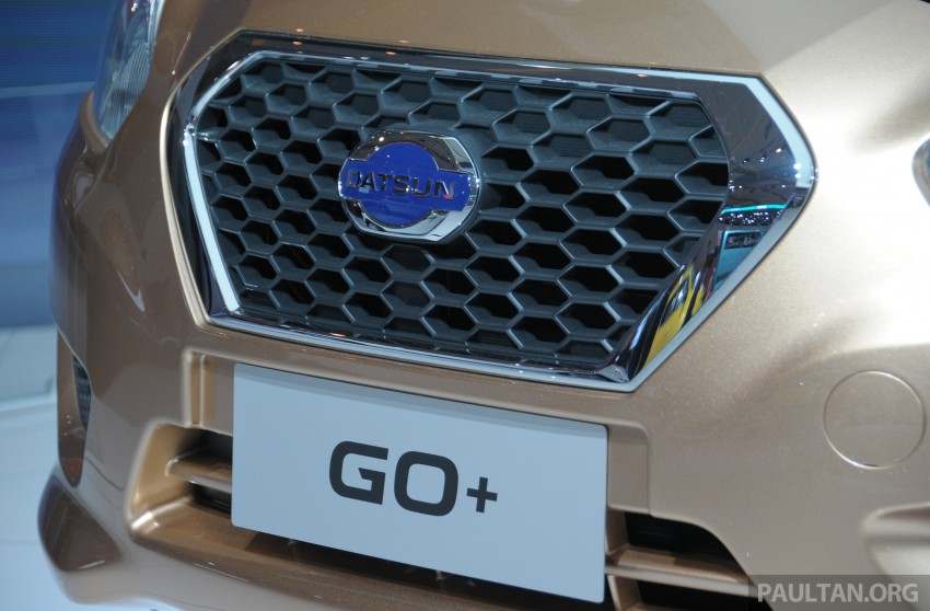 GALLERY: Datsun GO+ MPV and GO hatch at IIMS Image #200304