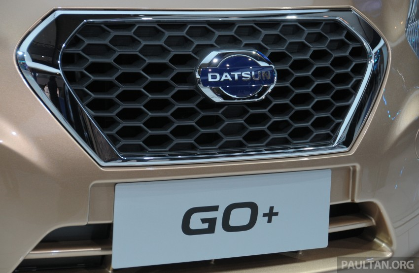 GALLERY: Datsun GO+ MPV and GO hatch at IIMS Image #200305