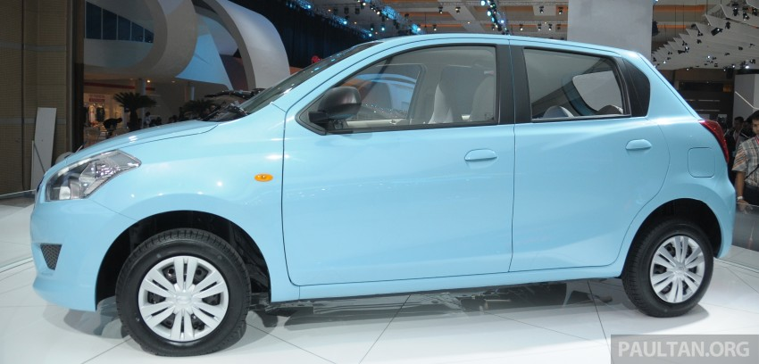 GALLERY: Datsun GO+ MPV and GO hatch at IIMS Image #200289