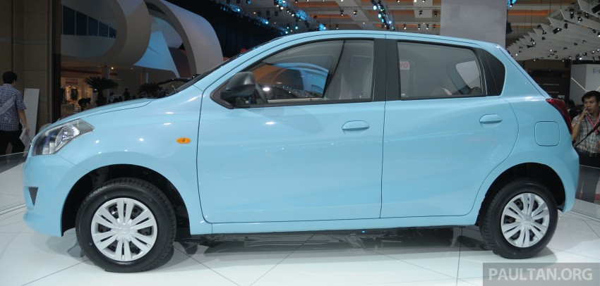 GALLERY: Datsun GO+ MPV and GO hatch at IIMS Image #200290