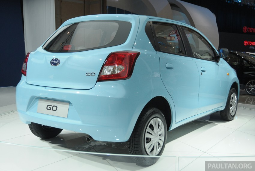 GALLERY: Datsun GO+ MPV and GO hatch at IIMS Image #200293