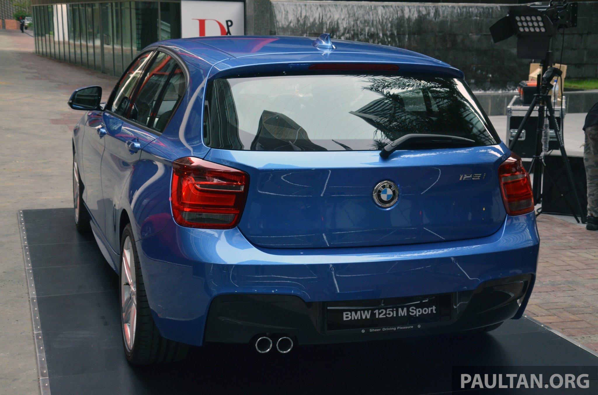 Bmw 125i m Sport Blue F20 Bmw 125i m Sport 10