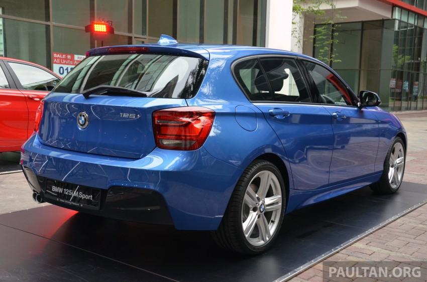 BMW 1 Series (F20) launched in Malaysia – 116i, 118i Sport/Urban, 125i Sport/M Sport, RM171k-254k Image #200049